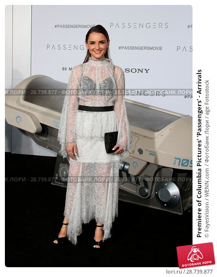 Купить «Premiere of Columbia Pictures' 'Passengers' - Arrivals Featuring: Rachael Leigh Cook Where: Westwood, California, United States When: 15 Dec 2016 Credit: FayesVision/WENN.com», фото № 28739877, снято 15 декабря 2016 г. (c) age Fotostock / Фотобанк Лори