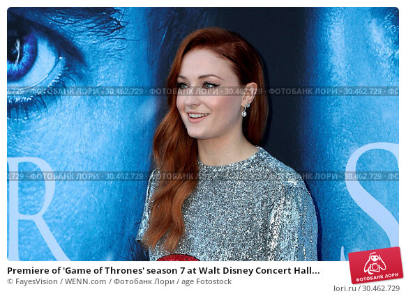 Premiere of 'Game of Thrones' season 7 at Walt Disney Concert Hall... (2017 год). Редакционное фото, фотограф FayesVision / WENN.com / age Fotostock / Фотобанк Лори
