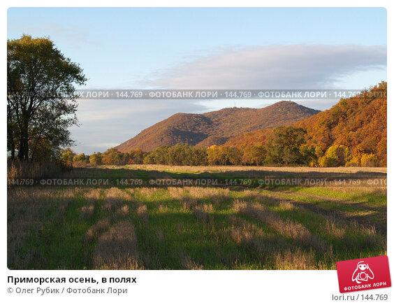 Приморская осень, в полях, фото № 144769, снято 9 октября 2007 г. (c) Олег Рубик / Фотобанк Лори