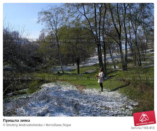 Пришла зима, фото № 103413, снято 25 апреля 2017 г. (c) Dmitriy Andrushchenko / Фотобанк Лори