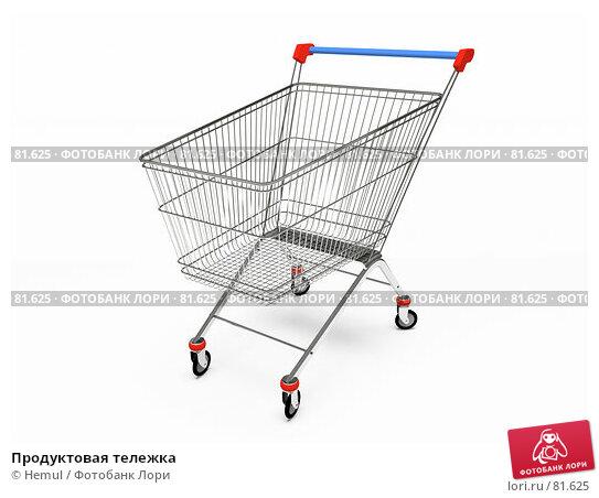 Купить «Продуктовая тележка», иллюстрация № 81625 (c) Hemul / Фотобанк Лори