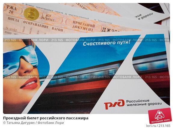Купить «Проездной билет российского пассажира», фото № 213165, снято 3 марта 2008 г. (c) Татьяна Дигурян / Фотобанк Лори