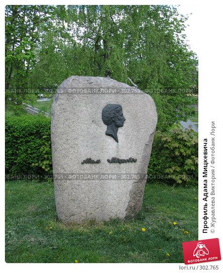 Купить «Профиль Адама Мицкевича», фото № 302765, снято 20 ноября 2007 г. (c) Журавлева Виктория / Фотобанк Лори