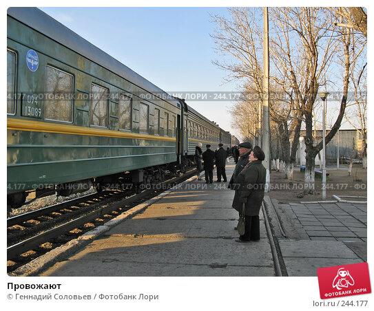 Провожают, фото № 244177, снято 4 апреля 2008 г. (c) Геннадий Соловьев / Фотобанк Лори