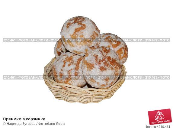 Пряники в корзинке, фото № 210461, снято 25 мая 2007 г. (c) Надежда Бугаева / Фотобанк Лори