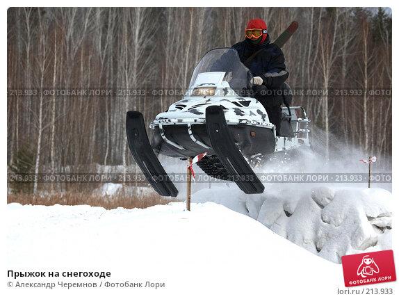 Прыжок на снегоходе, фото № 213933, снято 23 февраля 2008 г. (c) Александр Черемнов / Фотобанк Лори