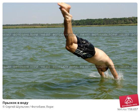 Прыжок в воду, фото № 158657, снято 20 августа 2007 г. (c) Сергей Шульгин / Фотобанк Лори