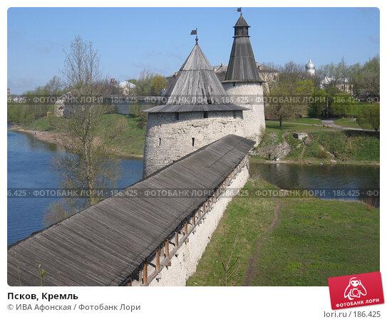 Псков, Кремль, фото № 186425, снято 4 мая 2007 г. (c) ИВА Афонская / Фотобанк Лори