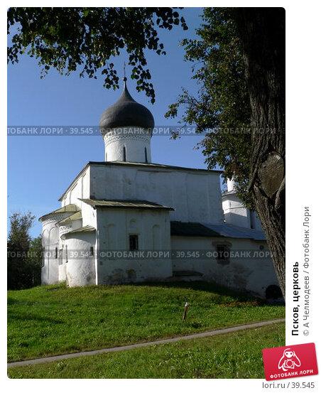 Псков, церковь, фото № 39545, снято 15 сентября 2006 г. (c) A Челмодеев / Фотобанк Лори
