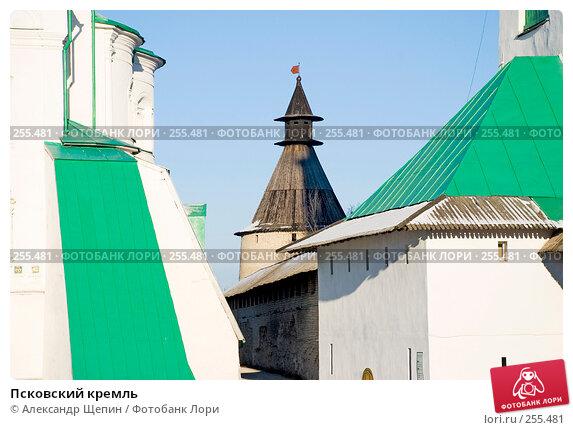 Псковский кремль, эксклюзивное фото № 255481, снято 4 января 2008 г. (c) Александр Щепин / Фотобанк Лори