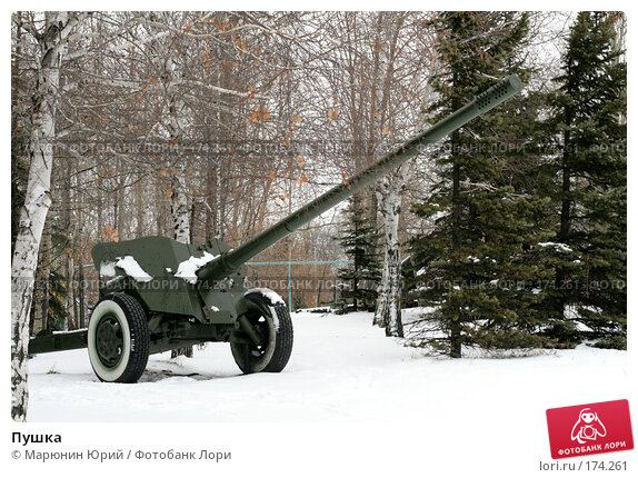 Пушка, фото № 174261, снято 1 декабря 2007 г. (c) Марюнин Юрий / Фотобанк Лори