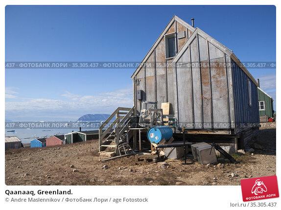 Qaanaaq, Greenland. Стоковое фото, фотограф Andre Maslennikov / age Fotostock / Фотобанк Лори