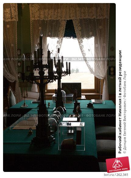 Рабочий кабинет Николая I в летней резиденции, фото № 262341, снято 16 апреля 2008 г. (c) Донцов Евгений Викторович / Фотобанк Лори