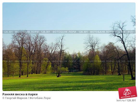 Купить «Ранняя весна в парке», фото № 128301, снято 7 мая 2006 г. (c) Георгий Марков / Фотобанк Лори