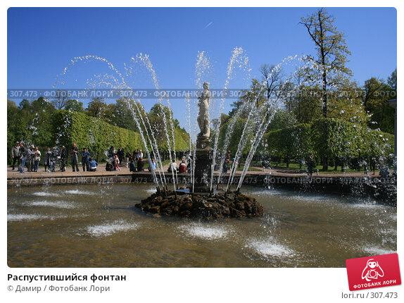 Распустившийся фонтан, фото № 307473, снято 25 мая 2008 г. (c) Дамир / Фотобанк Лори