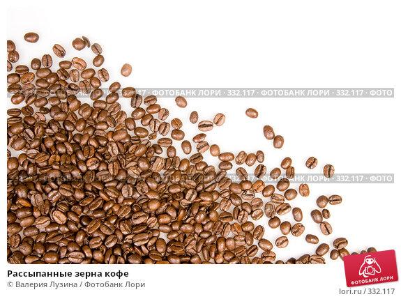 Рассыпанные зерна кофе, фото № 332117, снято 22 июня 2008 г. (c) Валерия Потапова / Фотобанк Лори