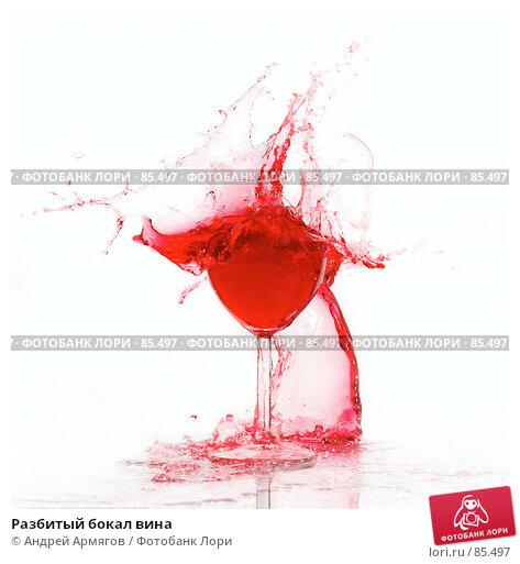 Купить «Разбитый бокал вина», фото № 85497, снято 14 августа 2007 г. (c) Андрей Армягов / Фотобанк Лори