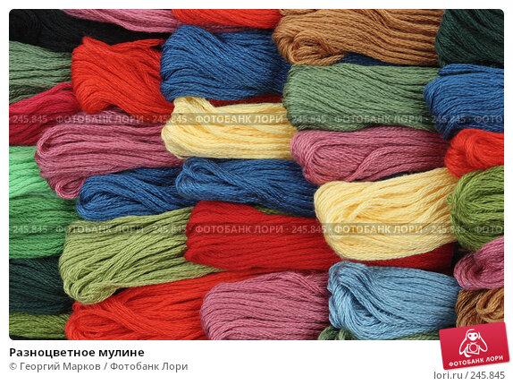 Купить «Разноцветное мулине», фото № 245845, снято 18 августа 2007 г. (c) Георгий Марков / Фотобанк Лори