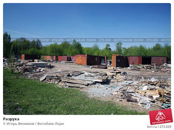 Разруха, эксклюзивное фото № 273029, снято 4 мая 2008 г. (c) Игорь Веснинов / Фотобанк Лори