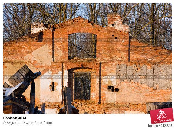 Развалины, фото № 242813, снято 29 марта 2008 г. (c) Argument / Фотобанк Лори