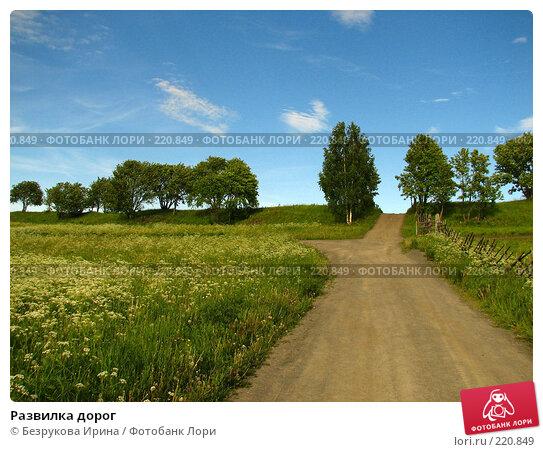 Развилка дорог, эксклюзивное фото № 220849, снято 14 июня 2007 г. (c) Безрукова Ирина / Фотобанк Лори