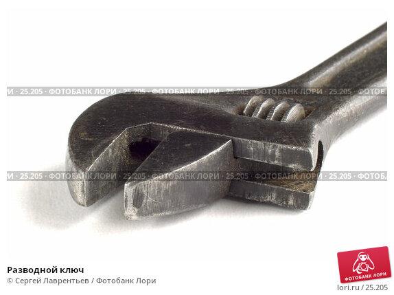 Купить «Разводной ключ», фото № 25205, снято 22 февраля 2020 г. (c) Сергей Лаврентьев / Фотобанк Лори