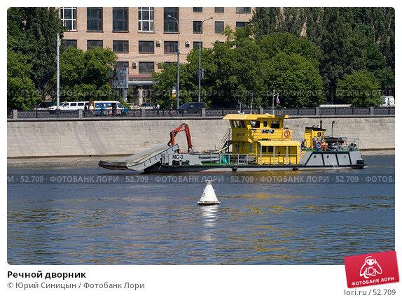Купить «Речной дворник», фото № 52709, снято 9 июня 2007 г. (c) Юрий Синицын / Фотобанк Лори