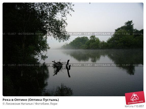 Река в Оптине (Оптина Пустынь), фото № 13857, снято 16 июля 2005 г. (c) Лисовская Наталья / Фотобанк Лори