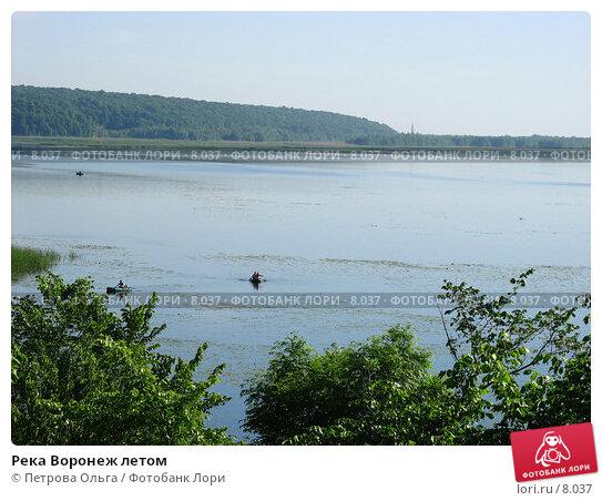 Река Воронеж летом, фото № 8037, снято 4 июня 2006 г. (c) Петрова Ольга / Фотобанк Лори