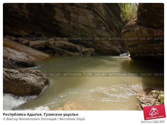 Республика Адыгея. Гуамское ущелье, фото № 242357, снято 1 мая 2006 г. (c) Виктор Филиппович Погонцев / Фотобанк Лори