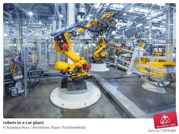Купить «robots in a car plant», фото № 7819681, снято 16 марта 2019 г. (c) PantherMedia / Фотобанк Лори