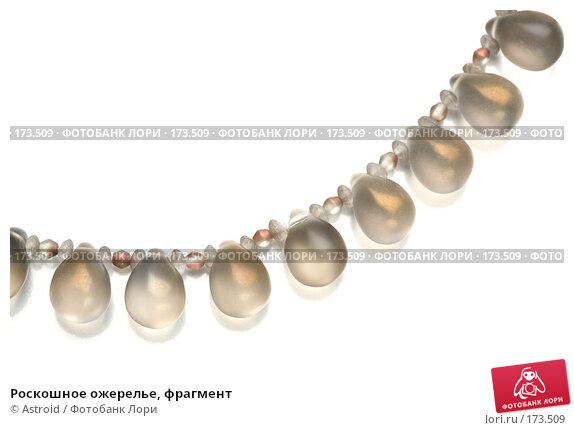 Роскошное ожерелье, фрагмент, фото № 173509, снято 25 ноября 2007 г. (c) Astroid / Фотобанк Лори