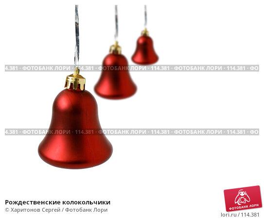 Рождественские колокольчики, фото № 114381, снято 6 ноября 2007 г. (c) Харитонов Сергей / Фотобанк Лори