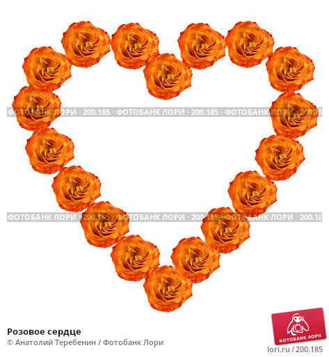 Купить «Розовое сердце», иллюстрация № 200185 (c) Анатолий Теребенин / Фотобанк Лори