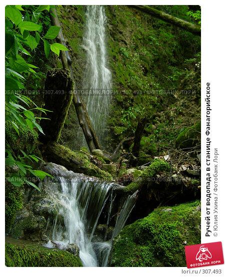 Ручей от водопада в станице Фанагорийское, фото № 307493, снято 9 мая 2008 г. (c) Юлия Ухина / Фотобанк Лори