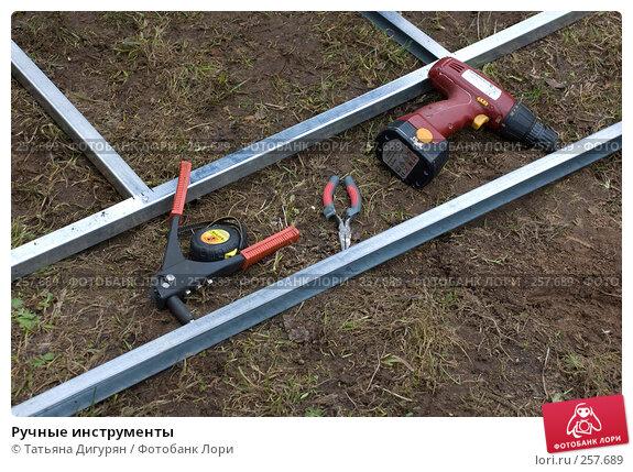 Ручные инструменты, фото № 257689, снято 19 апреля 2008 г. (c) Татьяна Дигурян / Фотобанк Лори