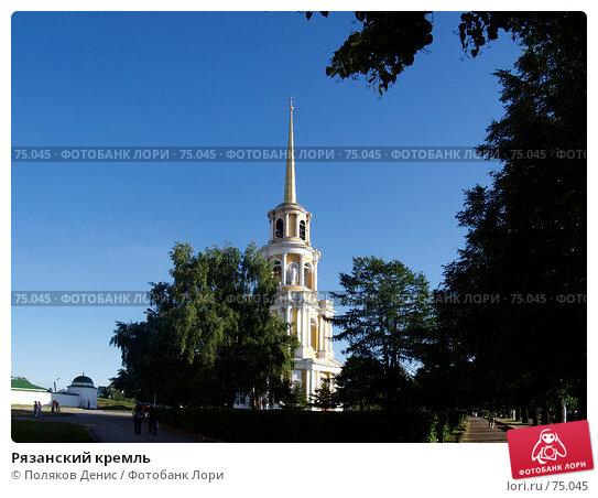 Рязанский кремль, фото № 75045, снято 12 июня 2007 г. (c) Поляков Денис / Фотобанк Лори