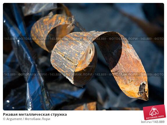 Ржавая металлическая стружка, фото № 143889, снято 17 мая 2007 г. (c) Argument / Фотобанк Лори