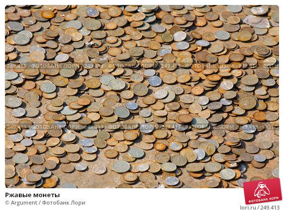 Ржавые монеты, фото № 249413, снято 5 апреля 2008 г. (c) Argument / Фотобанк Лори