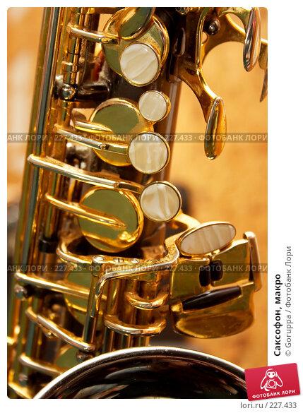 Саксофон, макро, фото № 227433, снято 23 февраля 2008 г. (c) Goruppa / Фотобанк Лори