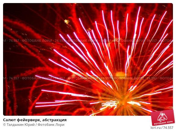 Салют фейерверк, абстракция, фото № 74557, снято 29 марта 2017 г. (c) Талдыкин Юрий / Фотобанк Лори