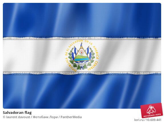 Salvadoran flag. Стоковая иллюстрация, иллюстратор laurent davoust / PantherMedia / Фотобанк Лори