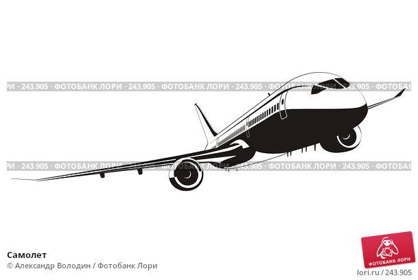 Самолет, иллюстрация № 243905 (c) Александр Володин / Фотобанк Лори