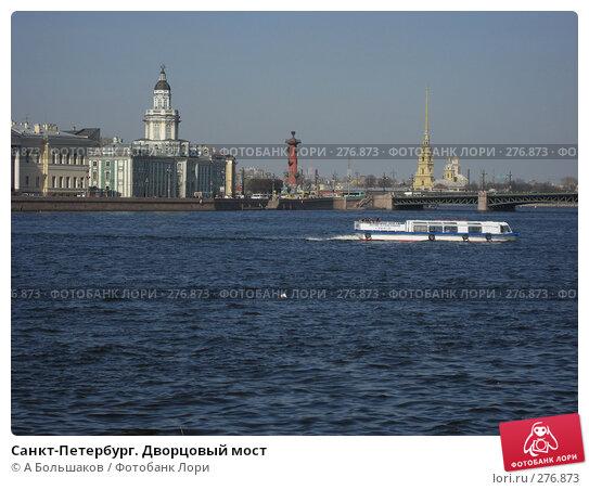 Санкт-Петербург. Дворцовый мост, фото № 276873, снято 26 апреля 2008 г. (c) A Большаков / Фотобанк Лори