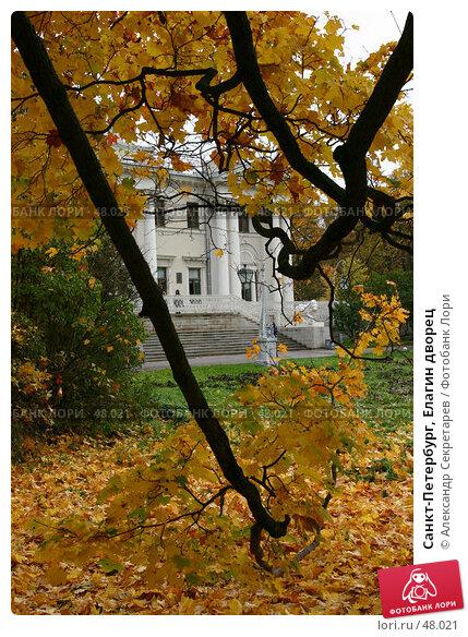 Санкт-Петербург, Елагин дворец, фото № 48021, снято 15 октября 2006 г. (c) Александр Секретарев / Фотобанк Лори