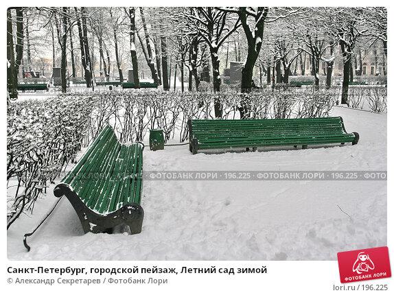 Санкт-Петербург, городской пейзаж, Летний сад зимой, фото № 196225, снято 4 февраля 2008 г. (c) Александр Секретарев / Фотобанк Лори