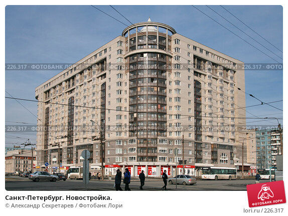 Санкт-Петербург. Новостройка., фото № 226317, снято 10 марта 2008 г. (c) Александр Секретарев / Фотобанк Лори