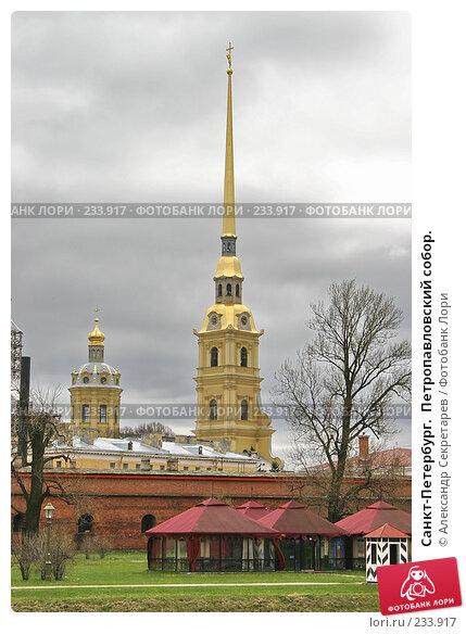 Санкт-Петербург.  Петропавловский собор., фото № 233917, снято 10 мая 2005 г. (c) Александр Секретарев / Фотобанк Лори
