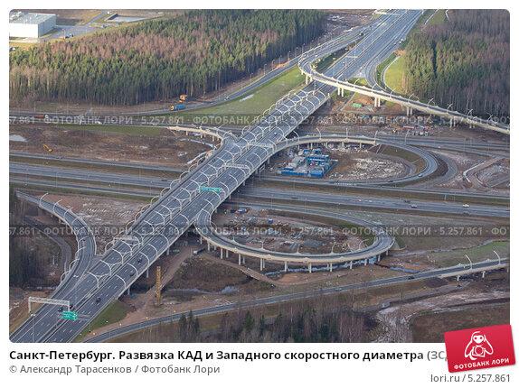 Санкт-Петербург. Развязка КАД