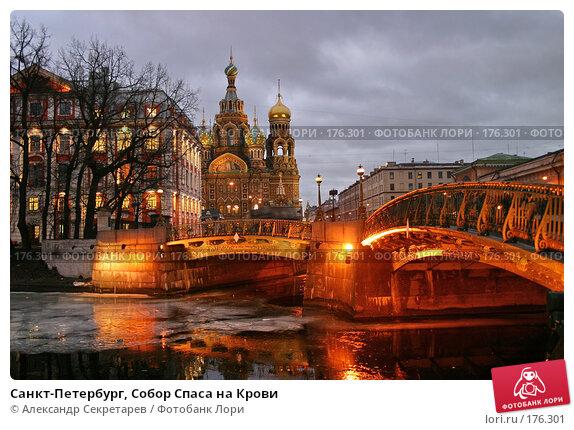 Санкт-Петербург, Собор Спаса на Крови, фото № 176301, снято 14 января 2008 г. (c) Александр Секретарев / Фотобанк Лори